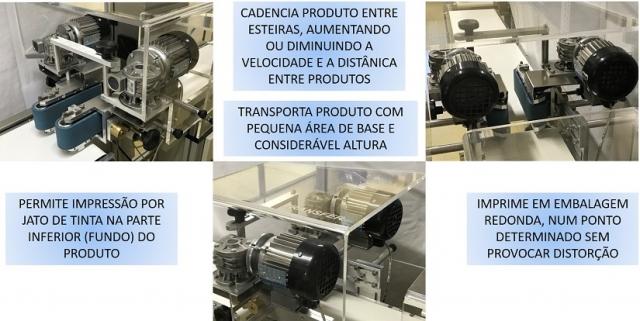 SIDE GRIP - O TRANSFERIDOR DE PRODUTO ENTRE MÁQUINAS E ESTEIRAS